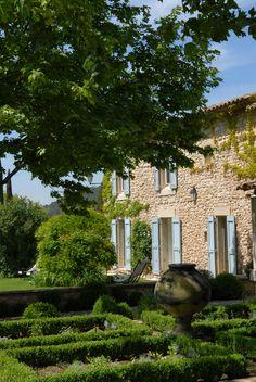 Exterior of La Bastide de Marie, boutique hotel in Provence
