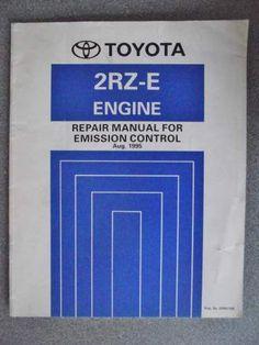 Toyota Emission Control Repair Manual 2RZ-E 1995 ERM116E on eBid United Kingdom