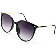 52mm, Gold Frame//Pink Lens Classic Vintage Round Sunglasses Unisex Circle Glasses Metal Frame