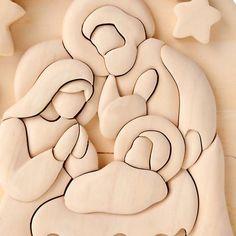 Wood Crafts, Diy And Crafts, Crafts For Kids, Christmas Nativity Scene, Christmas Crafts, Nativity Scenes, Nativity Scene Pictures, White Christmas, Xmas