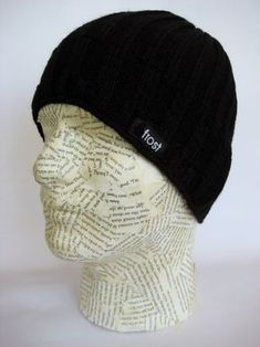 Skully Beanie Wool Knitted Cap Duck Animal Feather Warm Hat Daily Slouchy Hats Crease Knit Beanies Skull Cap