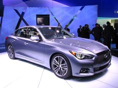 2014 autos pictures | 2014 Infiniti Q50 at the 2013 Detroit Auto Show