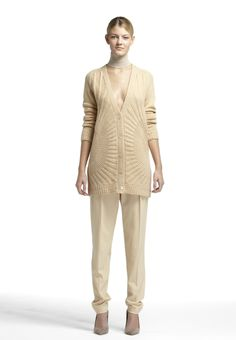 Look 1 Fall 2013 #fall #winter #fashion #design #style #cashmere
