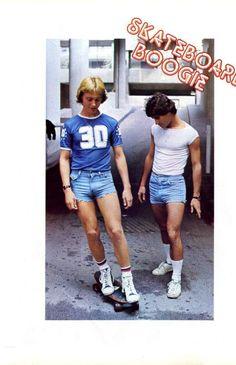 Those shorts! Boys Keep Swinging, Old School Skateboards, Hipster, Shorts, 4 Life, Skateboarding, Fashion, Moda, Hipsters