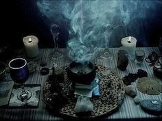 wicca, magic, and ritual image Pandaren Monk, Solas Dragon Age, Pagan Altar, The Ancient Magus, Sea Witch, Dark Witch, Season Of The Witch, Mystique, Witch Aesthetic