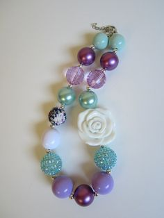 Spring Chunky Necklace for Girls