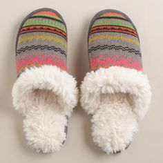 For when your Outdoor Princess comes in get her these cute warm slippers. $22.99