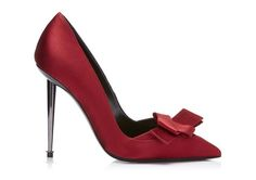 TOM FORD Origami Satin Pump. #tomford #shoes #pumps