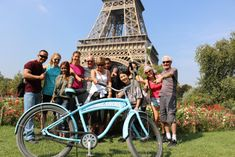 A great way to begin your visit to Paris, you'll see Notre Dame, the Louvre, the Eiffel Tower and loads more on this small-group bike tour. There's no better way to see the city's top landmarks and have fun than a ride with a friendly local guide.
