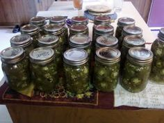 Create, Cook, Consume Becker Style: Jalapenos!!!! Not on a Steeeeick... Pickled!