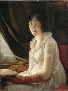 """""""Madame Barbier-Walbonne"""" by Baron François Gérard (1796)"""