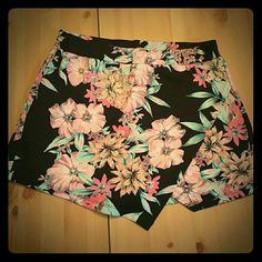 Brand new skort! Brand new skort with flower pattern about a girl  Shorts Skorts
