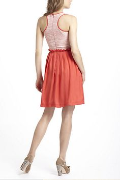 Boucle Racerback Dress