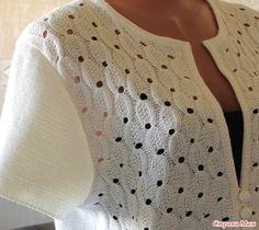 Baby Knitting Patterns, Knitting Charts, Lace Knitting, Stitch Patterns, Crochet Blouse, Crochet Motif, Crochet Stitches, Crochet Top, Crochet Clothes