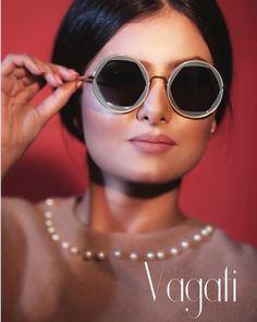 Vagati Eyewear (@vagatieyewear) • RACHA BEN MAOUIA WEARING FREYA BY VAGATI. SPRING/SUMMER COLLECTION.  CARRY YOUR MOOD AROUND. ▪️▪️ #byvagati #vagatieyewear #carryyourmoodaround #freya #hexegonal #shape #roundframe #round #sunglasses #sunglassesfashion #fashionable #trendy #style #eyewear #eyewearfashion #eyewearstyle #sunglasseslover #spectacles #shades #timeless #shades #vagati Round Frame, Trendy Style, Summer Collection, Eyewear, Round Sunglasses, Spring Summer, Shades, Mood, How To Wear