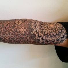 My right arm in progress by Dillon Forte