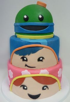 Cute Team Umizoomi cake