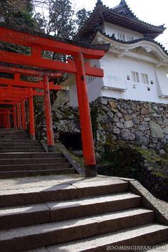 Japanese castles I've visited: #37 Izushi Castle in Hyogo Prefecture. You can visit Takeda Castle and this one in 1 day! :D