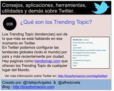 Twitter 008 - ¿Qué son los Trending Topic? #infografia