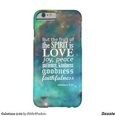 Purchase a new Bible case for your iPhone! Shop through thousands of designs for the iPhone iPhone 11 Pro, iPhone 11 Pro Max and all the previous models! Cute Phone Cases, 5s Cases, Galatians 5 22, Bible Cases, Famous Inspirational Quotes, New Bible, Fruit Of The Spirit, Iphone Accessories, Love Messages
