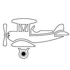 airplane outline