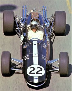 Eagle T1G Weslake Monaco GP 1967 #22 Richie Ginther