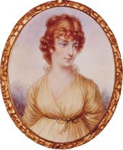 Martha Jefferson Randolph (b1722 - d1836) (daughter of #3 Thomas Jefferson). In WH: 1801 - 1809. Her mother died 18y before Jefferson was elected president. She gave birth to 1st child born in WH.