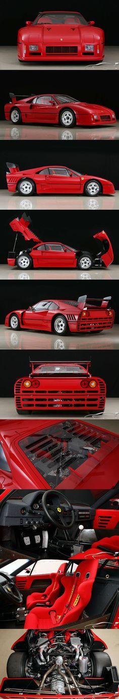 1986 Ferrari 288 GTO Evoluzione / 5pcs / 650hp / competition / Italy / red / 16-171
