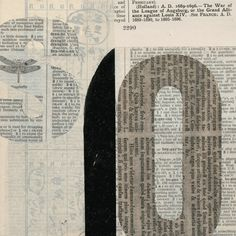 Janet Jones : 'Notations' Series (Collages)
