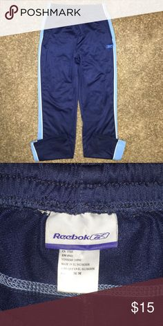 Women's size Medium Reebok pants Excellent condition. No rips or stains. Pet and smoke free home.  (!) Reebok Pants Track Pants & Joggers