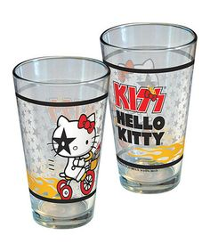 e1b432af8a ICUP Inc. Hello Kitty KISS Bicycle Pint Glass