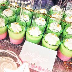 pastel theme dessert table