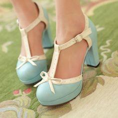 $33.20 | Cute thick high-heeled dermis sandals 6217YI