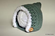 Autumn Woodland Pixie Hat (3 sizes) - Free Crochet Pattern