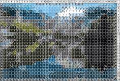 Patchwork pattern maker