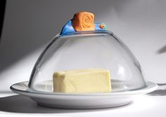 Create a butter dish - inexpensive