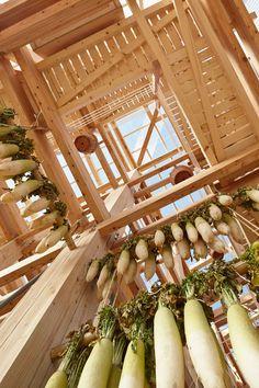Timber Community Food Hub by University of Berkeley + Kengo Kuma | http://www.yellowtrace.com.au/kengo-kuma-nest-we-grow/