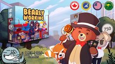 Bearly Working by Lazy Wolf Games —Kickstarter