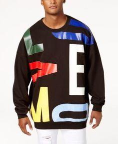 MOSCHINO Moschino Men'S Oversized Graphic-Print Sweatshirt. #moschino #cloth # hoodies
