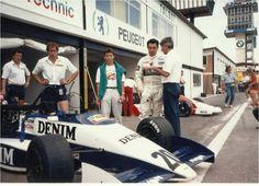 Eliseo Salazar - Lola T86/50 Cosworth DFV - Lola Motorsport - Jarama Grand Prix - 1986 Intercontinental Formula 3000 Championship, round 11