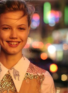 Lindsey Wixson 42nd Street by Paul Graham