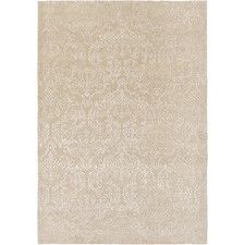 Etienne Hand-Knotted Khaki Area Rug