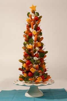 Taking a tip from Christmas fare, Phoenix created the Astro Weenie Party Tree.
