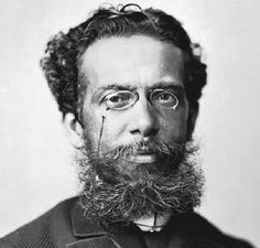 Machado de Assis, one of the best brazilian writers. Impeccable writer...