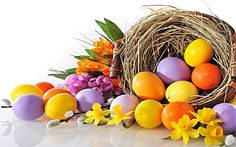 Easter Art, Easter Crafts, Easter Eggs, Easter Bunny Pictures, Orthodox Easter, Spring Pictures, Flower Aesthetic, Christmas Candy, Spring Flowers