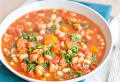 Dig In: Cozy Vegetarian Winter Soups:Baby, it is <em>cold</em> outside. And with all the chilly weather really kicking comfort-food cravings up a notch, we're on the lookout for the good stuff. But believe it or not, there are plenty of tasty and healthy ways to satisfy those cravings. So, instead of throwing caution to the wind, let a few of these cozy, healthy, veggie-packed soups carry you through all occasions this winter.