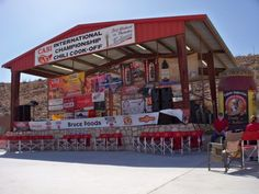 1. CASI Terlingua International Chili Cook-Off (Terlingua)