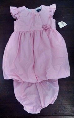 668f8e93a9dd Chaps Sportswear Baby Toddler Spring Summer Dress Pink White 24m Retail for  sale online | eBay