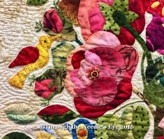 Roses by Rita Verroca   About five years ago, I (Kara), was working at the Elly Sienkiewicz Appliqué Academy in Williamsburg. It was my f...