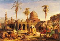 Artist: Unknown Date: 1235  I chose this picture because it is very neat to look at and really catches the eye. This painting has to do with my topic because Al-Mansur chose Baghdad as the site of his new capitol and home of his palace. Old Baghdad is beautiful and this painting is a good representation of the real deal.